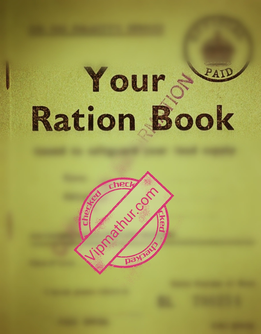 New Ration Card The Process Will Be Online