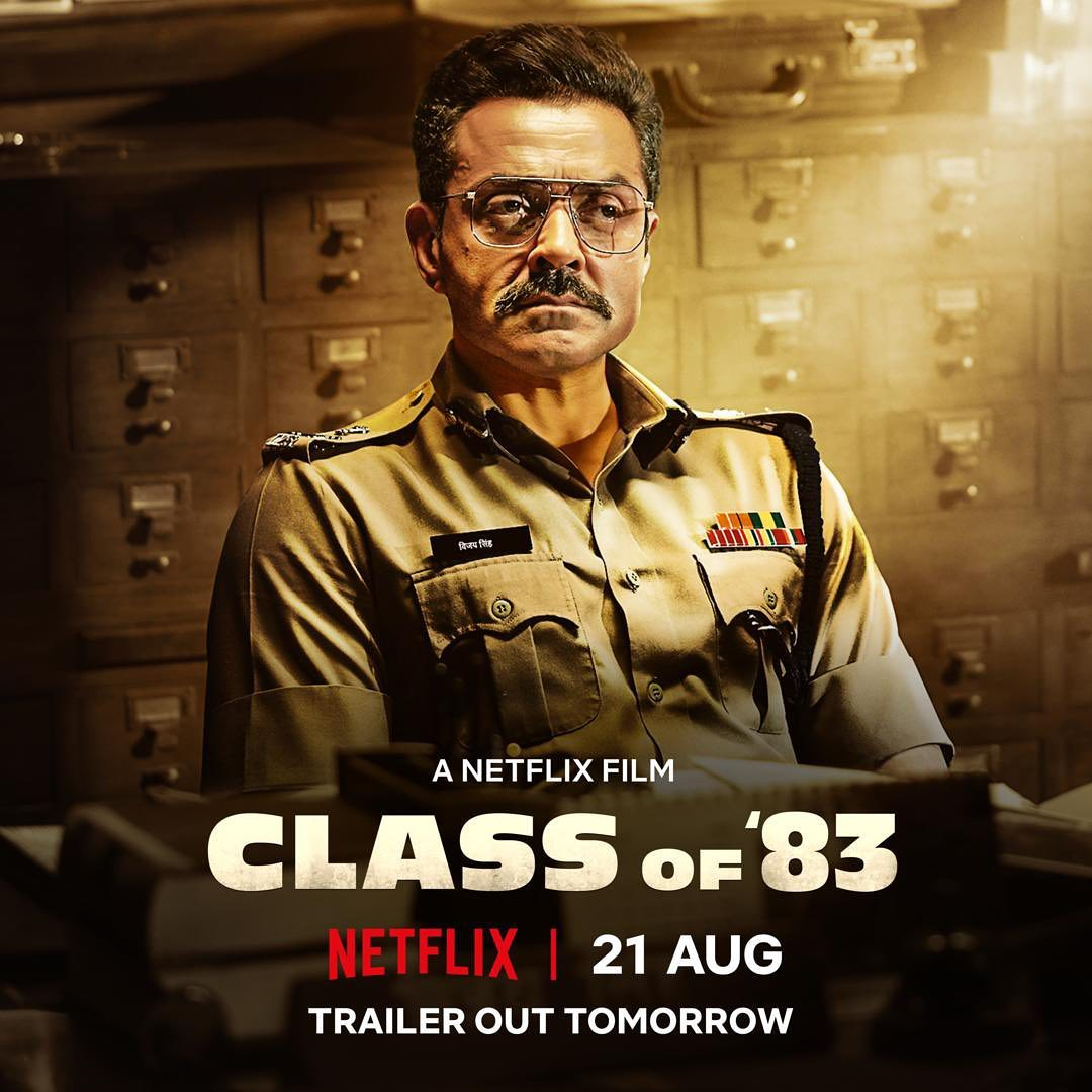 "Bobby Deol's film ""Class Of 83"" movie release date"